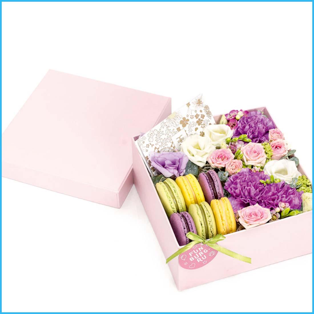 Coffret cadeaux fleurs