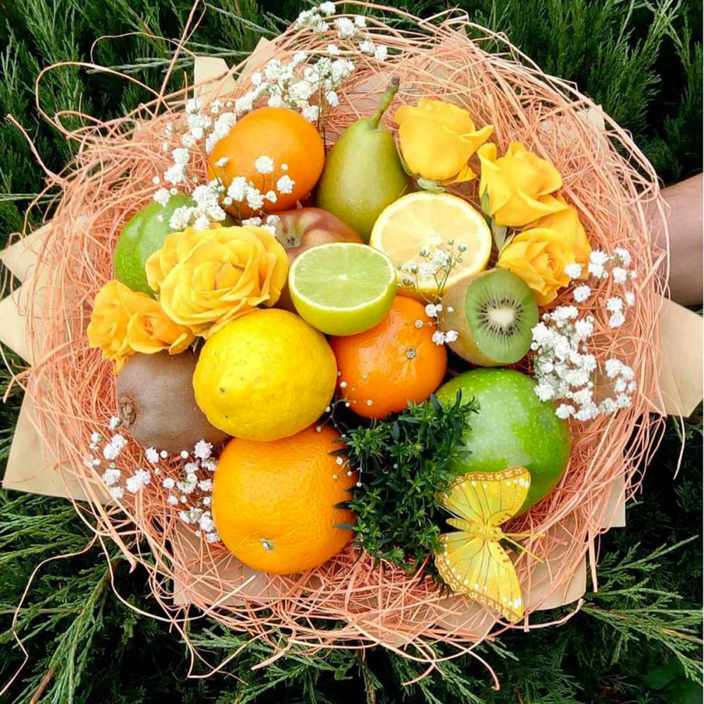 bouquet-evenementiel-fleur-citron-orange